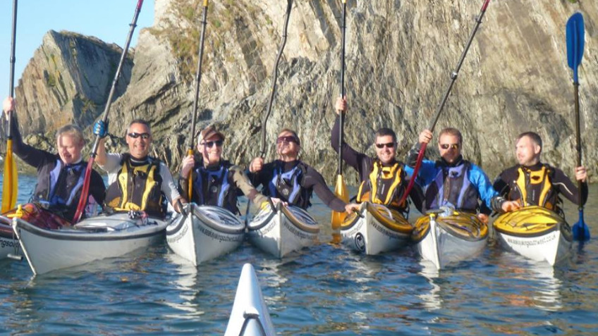 Kayak To Lundy...& Back For Imogen