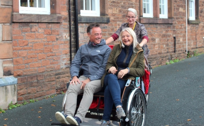 Cycling without age - penrith image