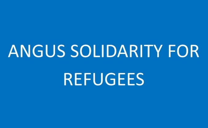 Angus solidarity for refugees image