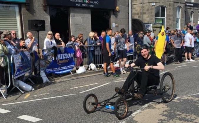 Ellon pedal car race image