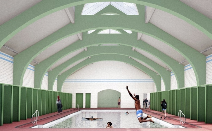 Govanhill baths new health & wellbeing centre image