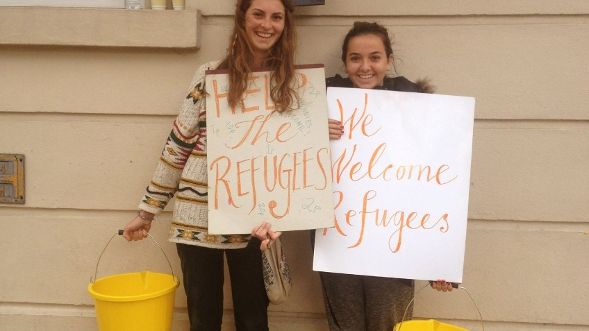 Leamington to Calais refugee aid