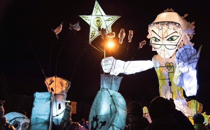 Mossley light festival image