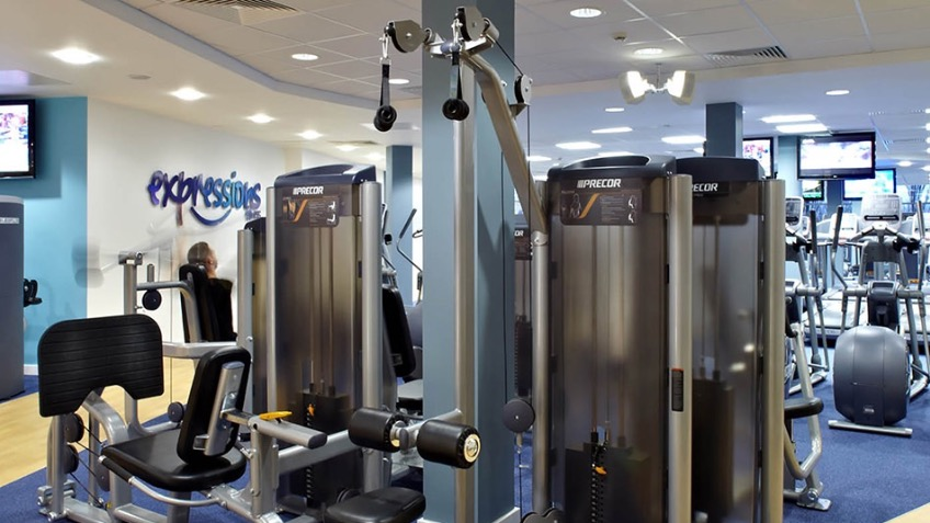 Gym in plympton