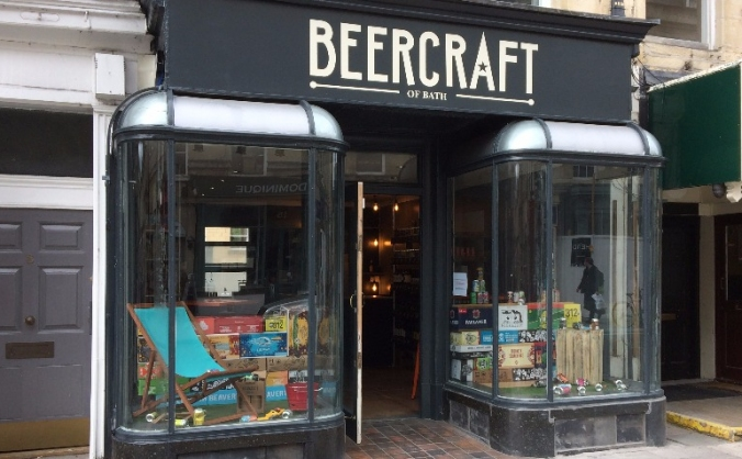 Beercraft of bath - creation of a tasting room image