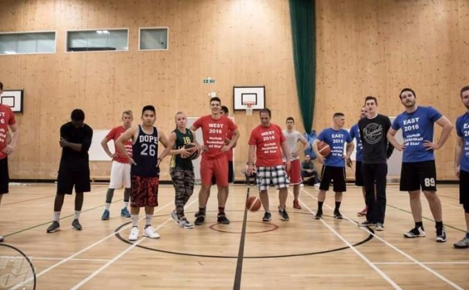 Norfolk titans basketball club - start up image