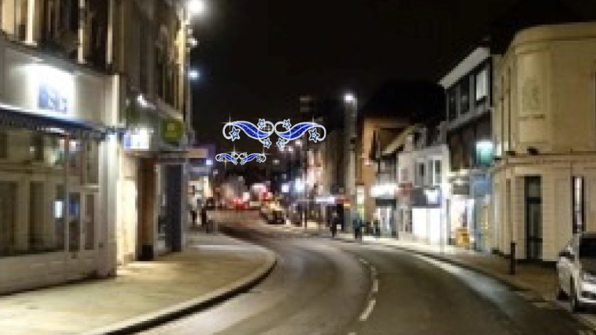 Christmas lights for Richmond in Surrey