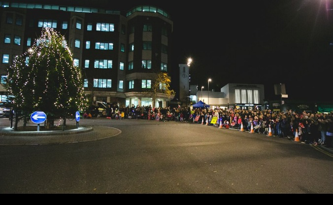 Surbiton christmas lights image