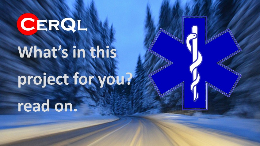 iceQR on your side in case of emergency