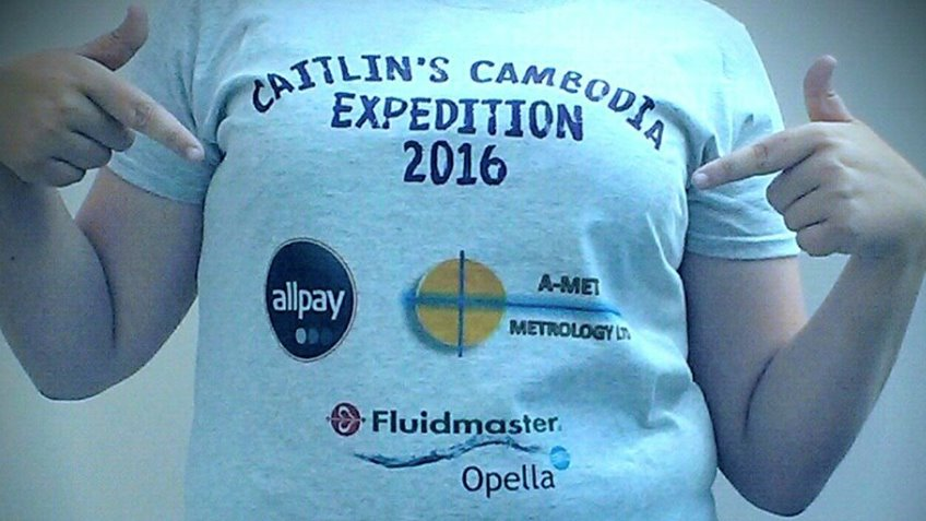 Caitlin's Cambodia Expedition 2016