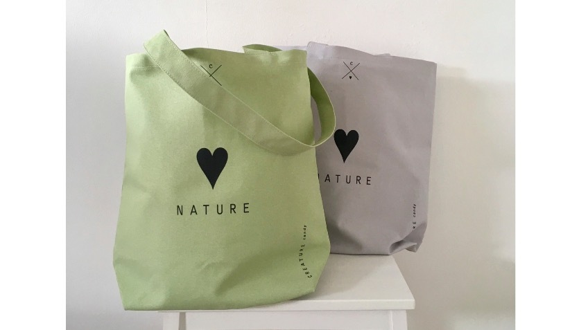 5b05f972eb Love Nature Tote Bags To Help Greenfingers Charity - a Business ...