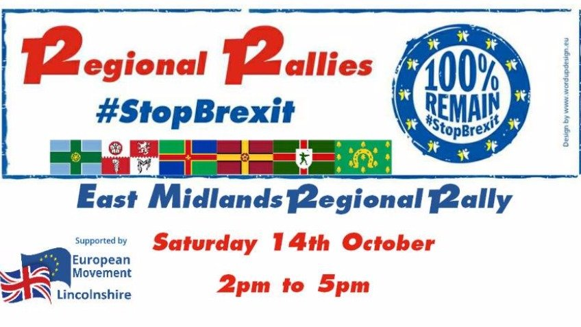 East Midlands Regional Mini Rally  #StopBrexit