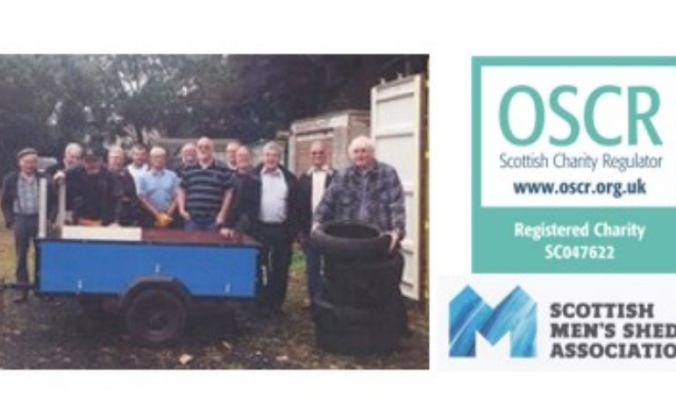 Forfar & district men's shed workshop appeal image