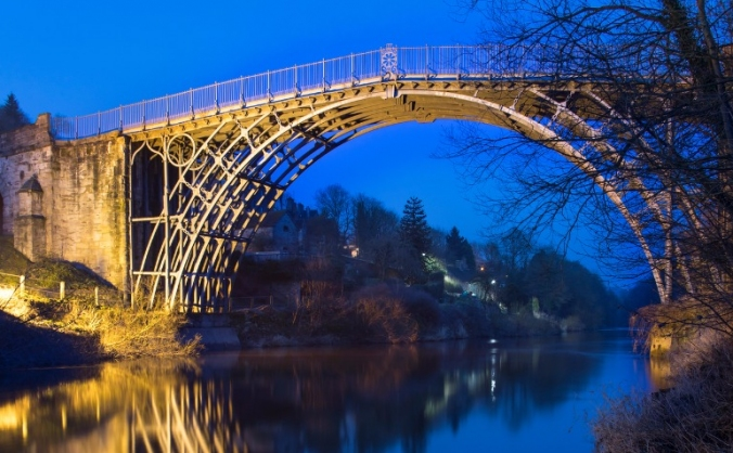 Project iron bridge: saving an industrial icon image