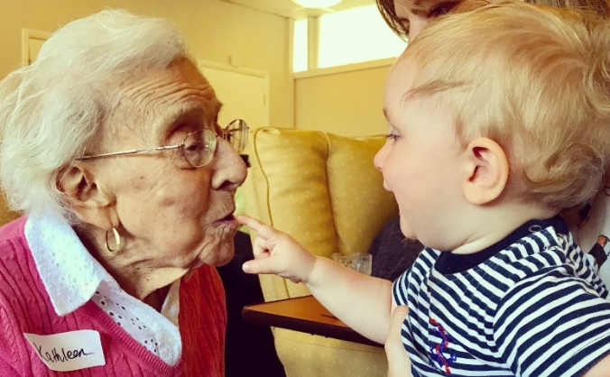 The together project: uniting young and old image