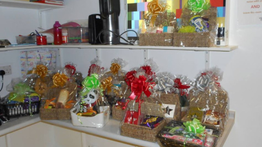 Hampers for Hospital- Christmas 2017