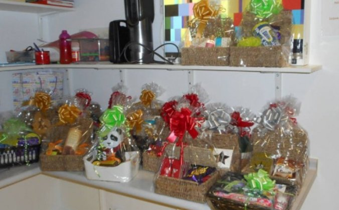 Hampers for hospital- christmas 2017 image