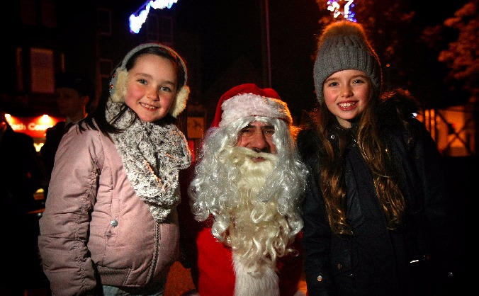Monifieth christmas lights image