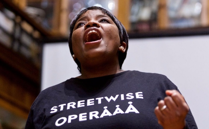 Streetwise opera's 'tell me the truth about love' image