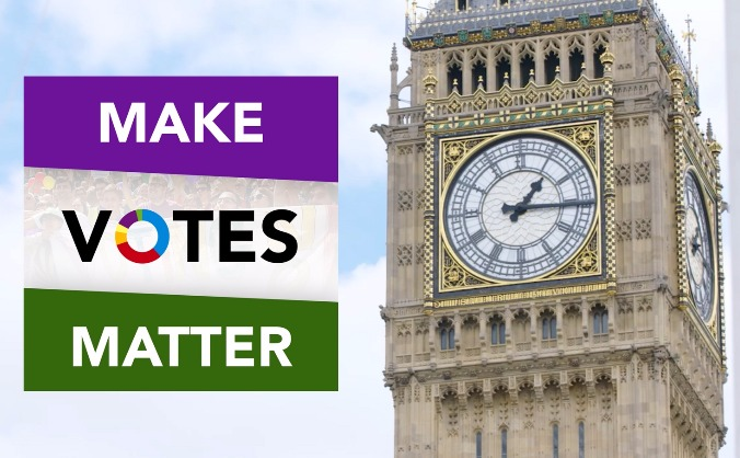 Proportional representation  #thetimeisnow! image