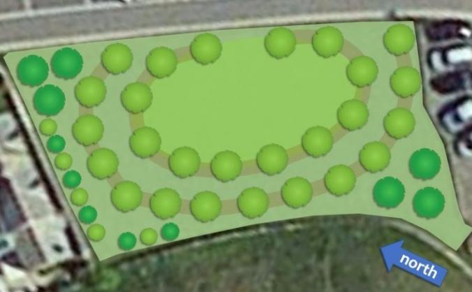 Bude community orchard image