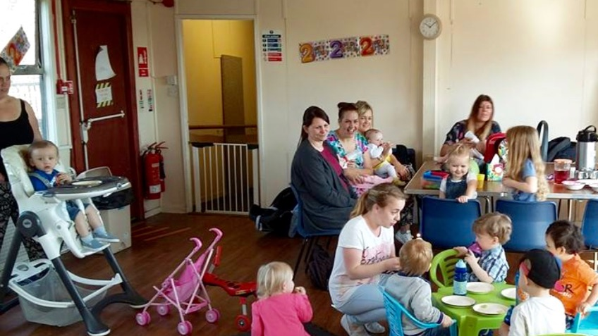 Harestanes parent and toddler group
