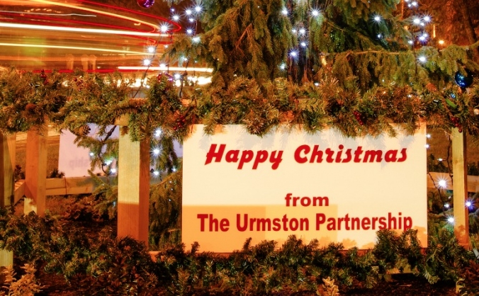 Urmston christmas lights image