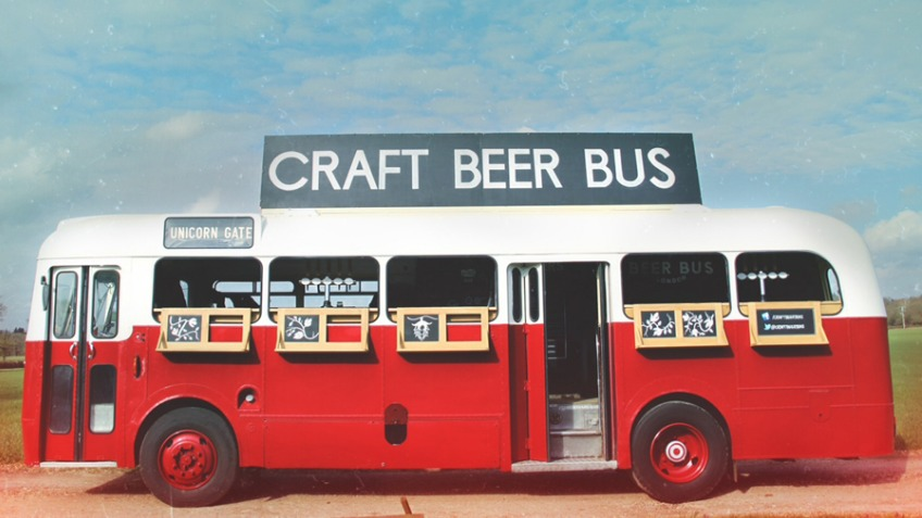 Local craft beer bus company.