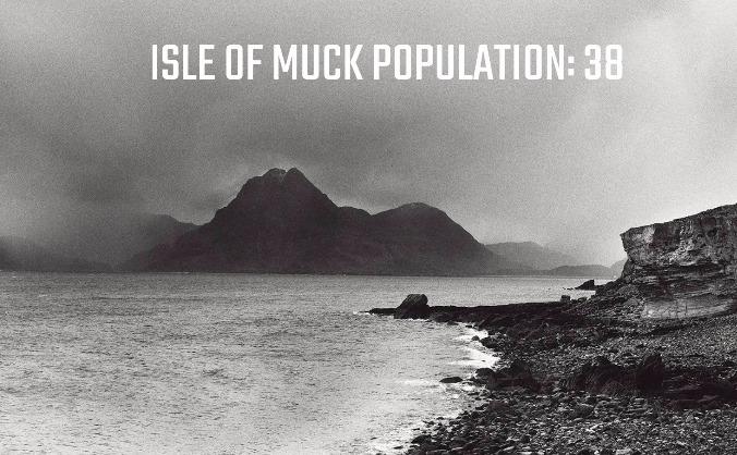 Isle of muck - population: 38 image