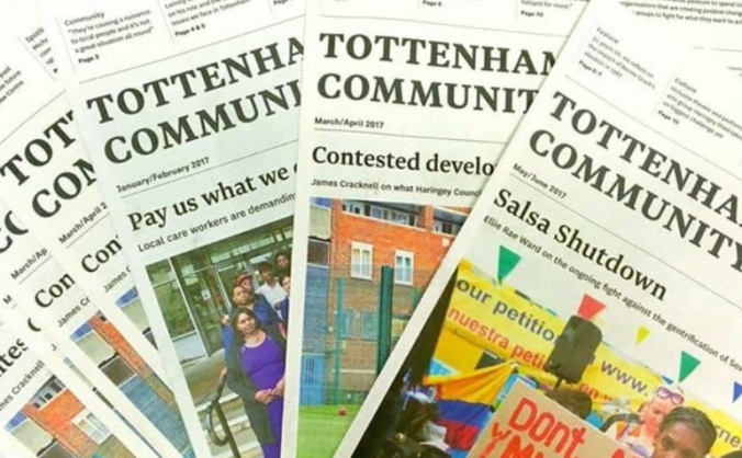 Tottenham community press - your news your way image
