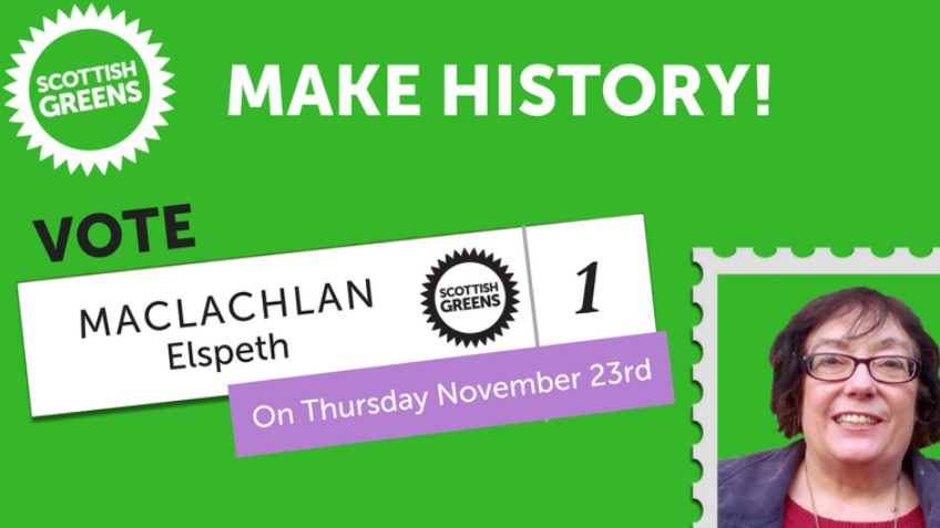 Make history! Elect a Green Councillor for Perth