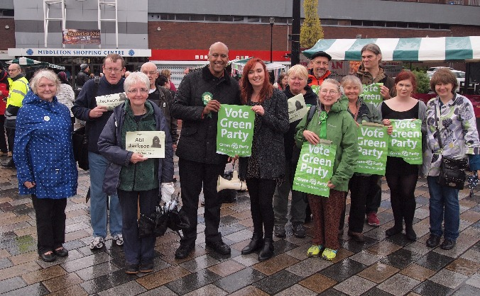 Green Party Candidate for Oldham West and Royton