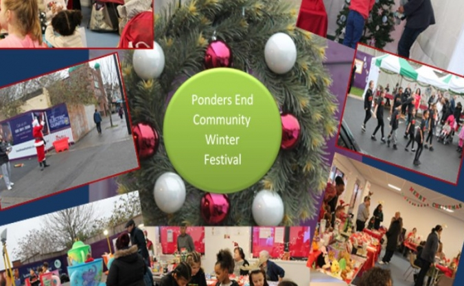 Ponders end community winter festival image