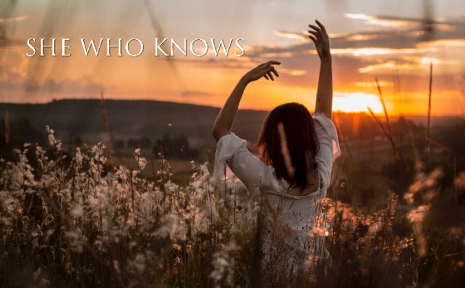 She who knows magazine image