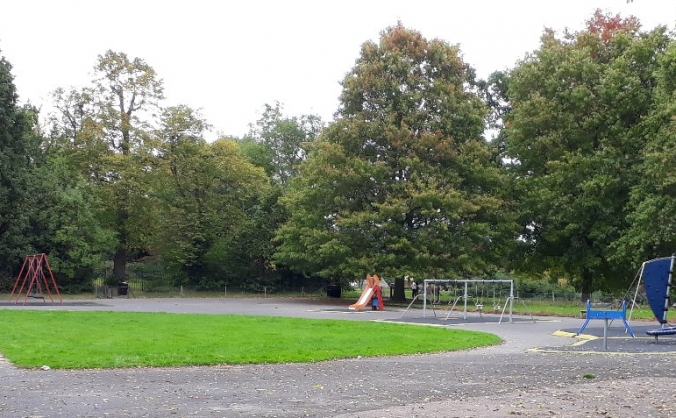 Pinner village gardens playground improvement image