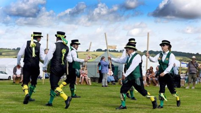 The Uk's first professional Morris Dancing side