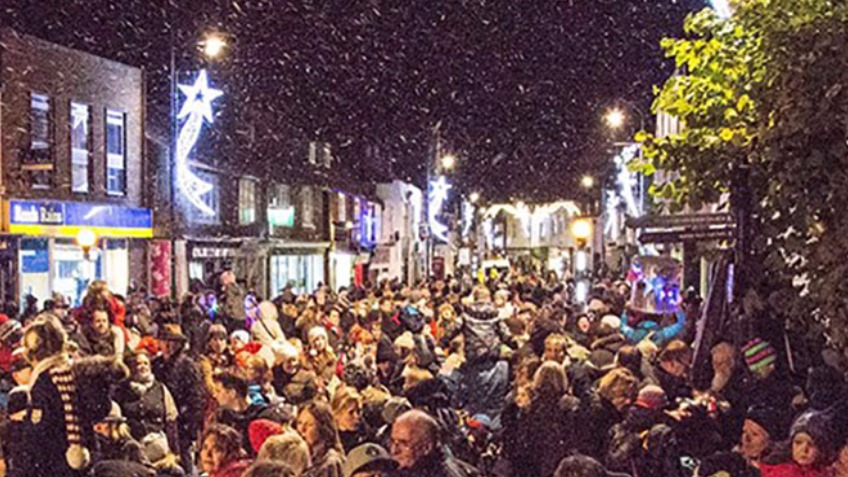 Whitstable Christmas Lights 2017