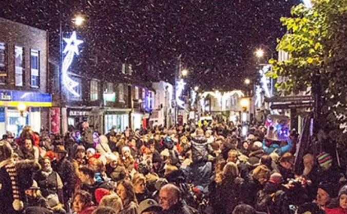 Whitstable christmas lights 2017 image