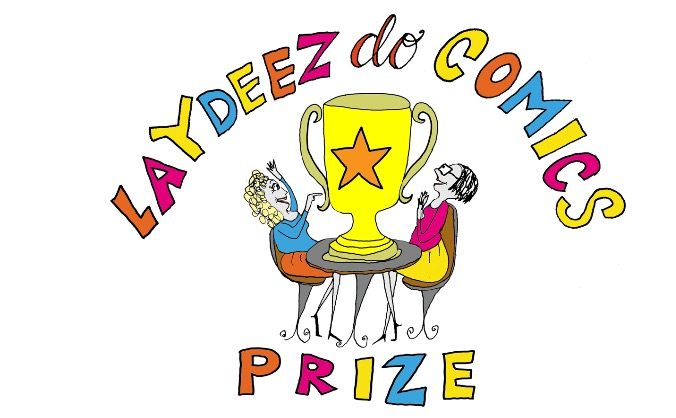Laydeez do comics prize image