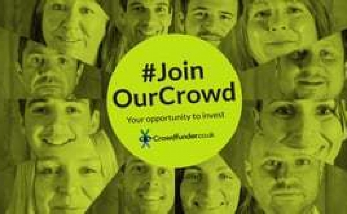 #joinourcrowd - crowdfunder share offer image