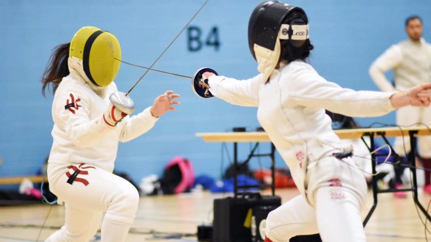 Support University of Surrey Fencing Club