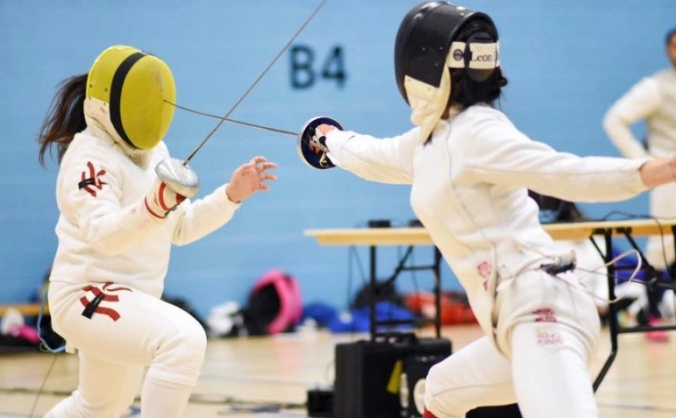 Support university of surrey fencing club image