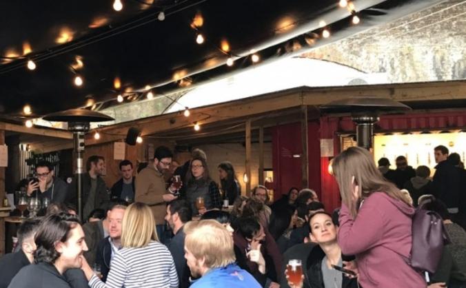 Building brick brewery's social beer hub! image