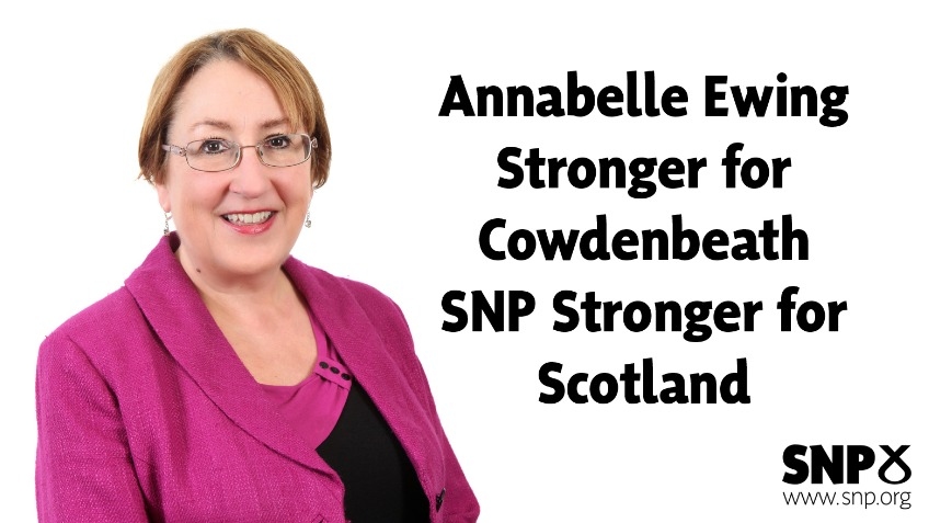 Annabelle Ewing for Cowdenbeath 2016
