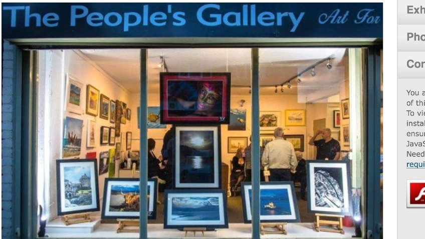 The Peoples's Gallery - Art for the community