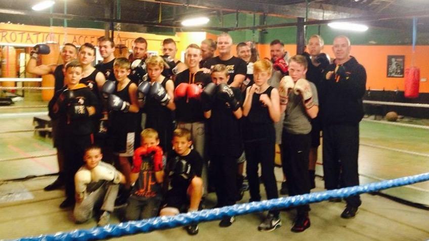 Blackpool kingscote amateur boxing a sports crowdfunding