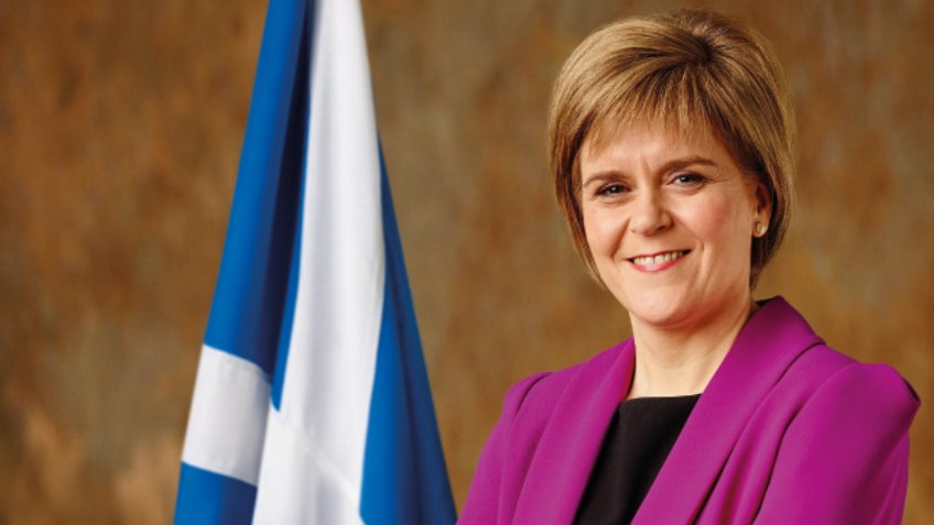 Image result for Scottish First Minister Nicola Sturgeon