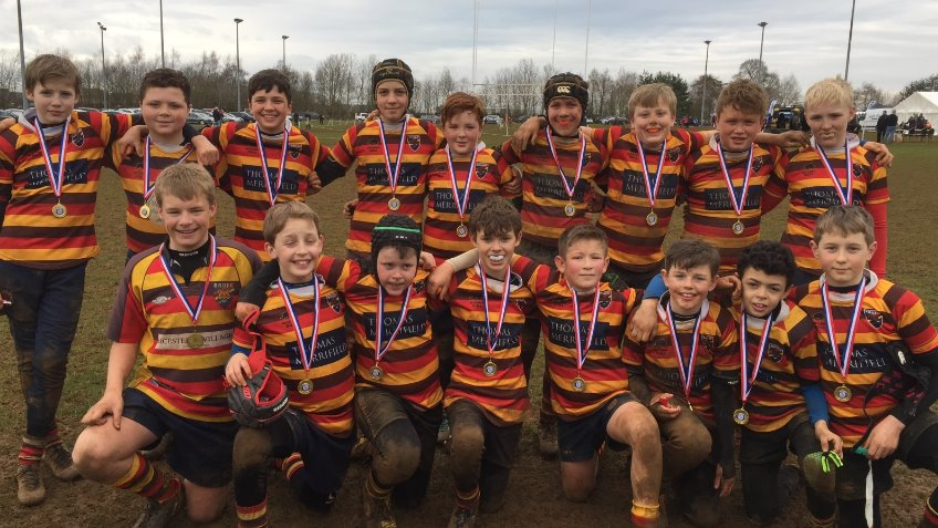 under 13s rugby team funding