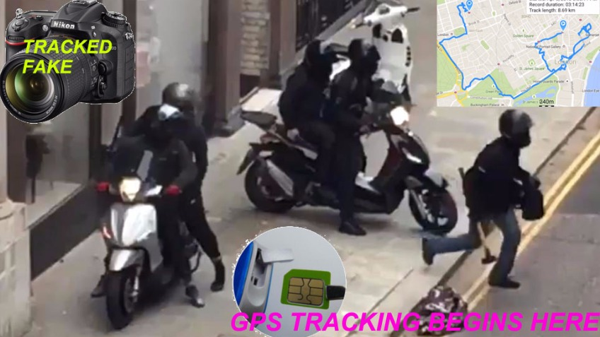 GPS Trackers To Stop Scooter Crime