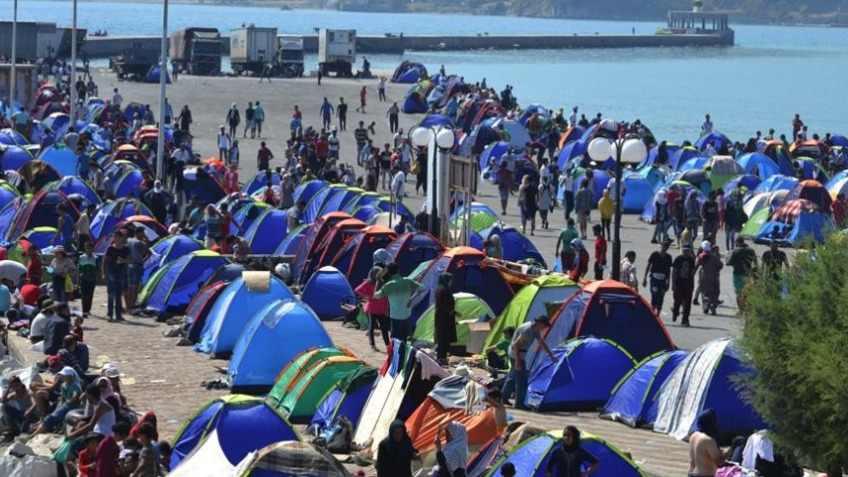 Support for Refugees in Lesvos